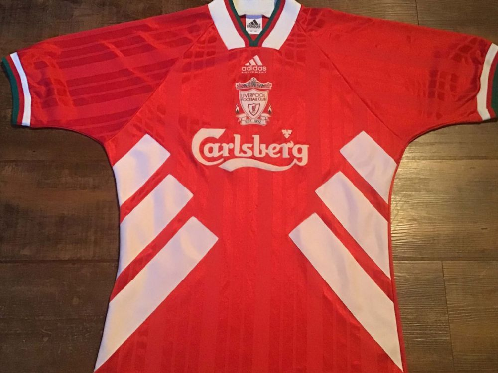 Global Classic Football Shirts | 1993 Liverpool Old Vintage Soccer Jerseys